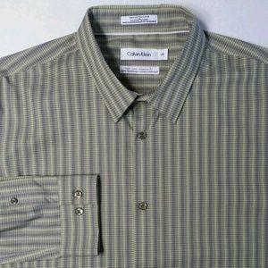 Calvin Klein Dress Shirt mens size Large